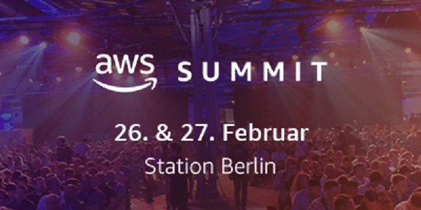 AWS Summit Berlin 2019 am 26. und 27.2.2019 (Save-the-Date) #AWSSummitBerlin
